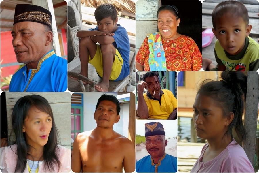 Wajah-Wajah Kesederhanaan Suku Bajo