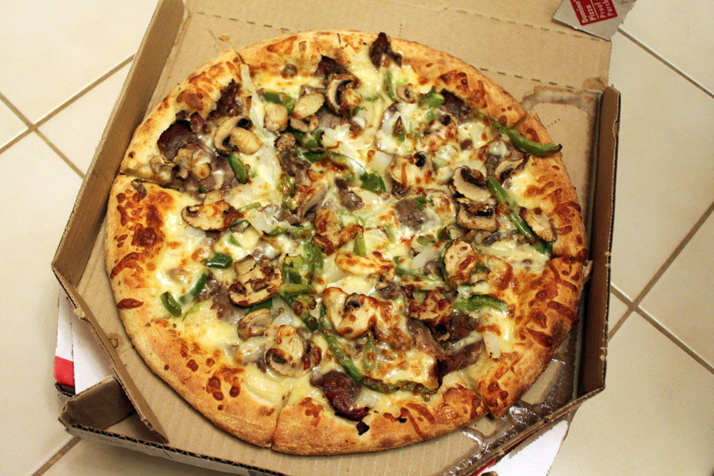 Domino's Philly Cheese Steak Pizza Recipe