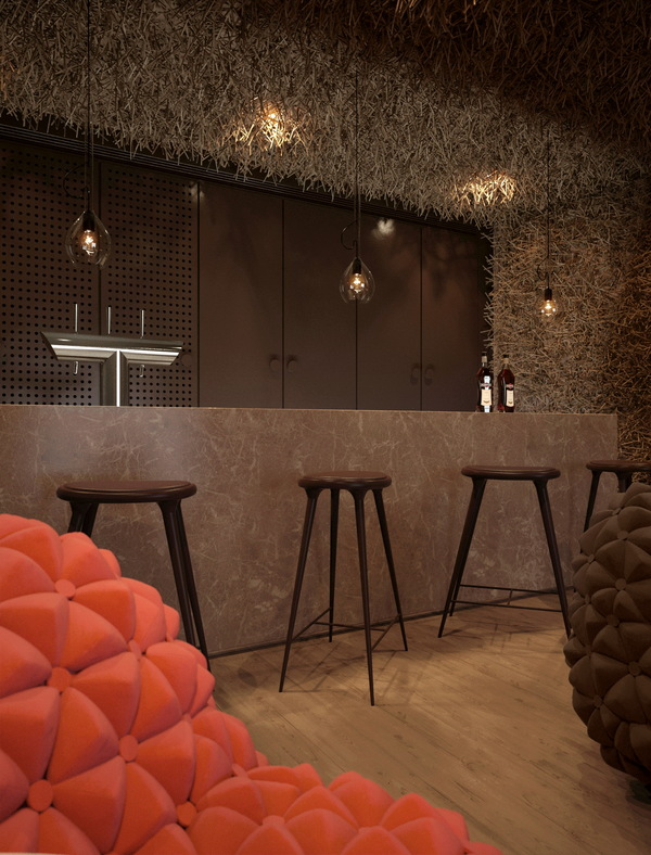 Totally tactile interior in Kiev~Design Aloud blog | Retail