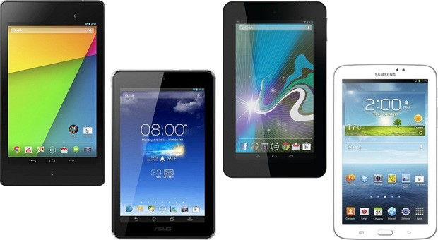 New Nexus 7 II (2013) vs 7-inch Android Tablets