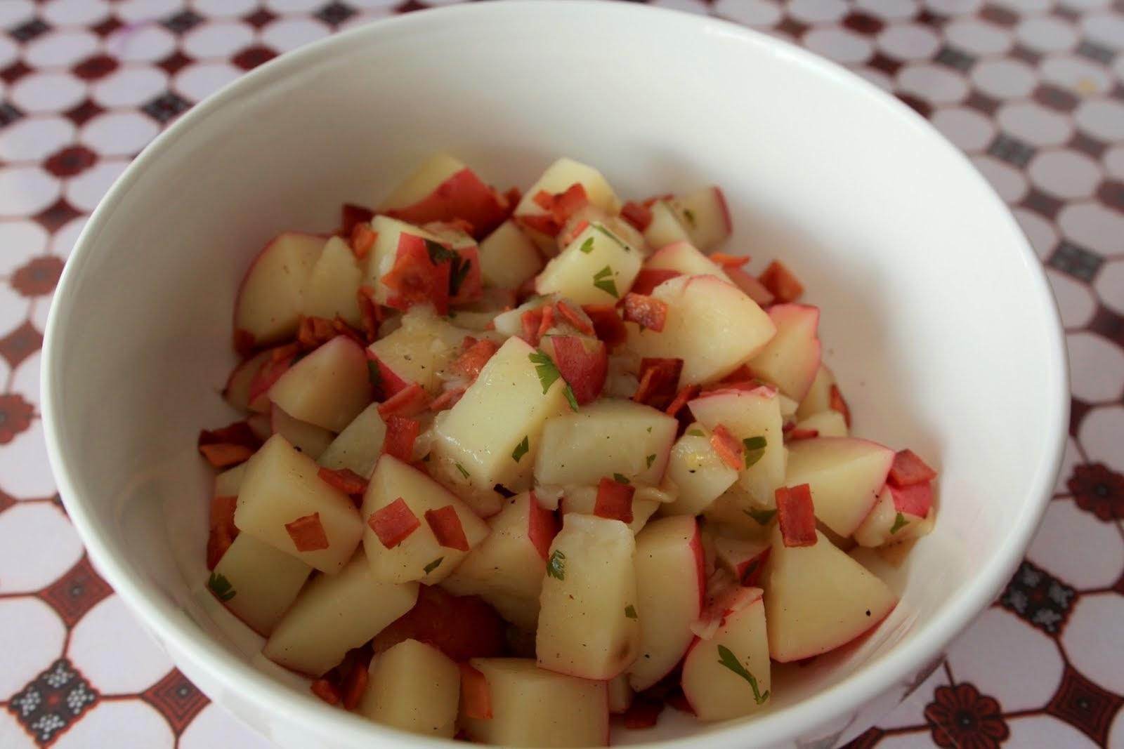 Salad Kentang Jerman Halal [Porkless German Potato Salad]