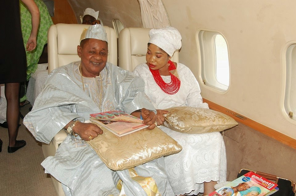 alaafin oyo private jet