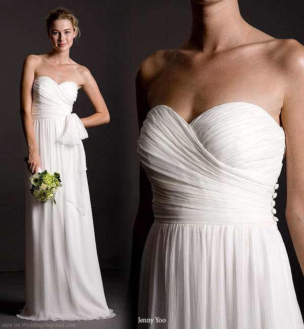 Fashion and stylish dresses blog jenny yoo bridal and for Jenny yoo wedding dresses