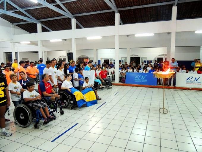 Natal: Competições dos Jogos Paralímpicos do RN prosseguem com emoção e capacidade de superação