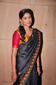 Actress Maneesha Photos in Saree-thumbnail-11