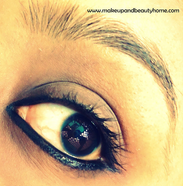 Lakme Eyeconic Kajal Eye Makeup ~ EOTD