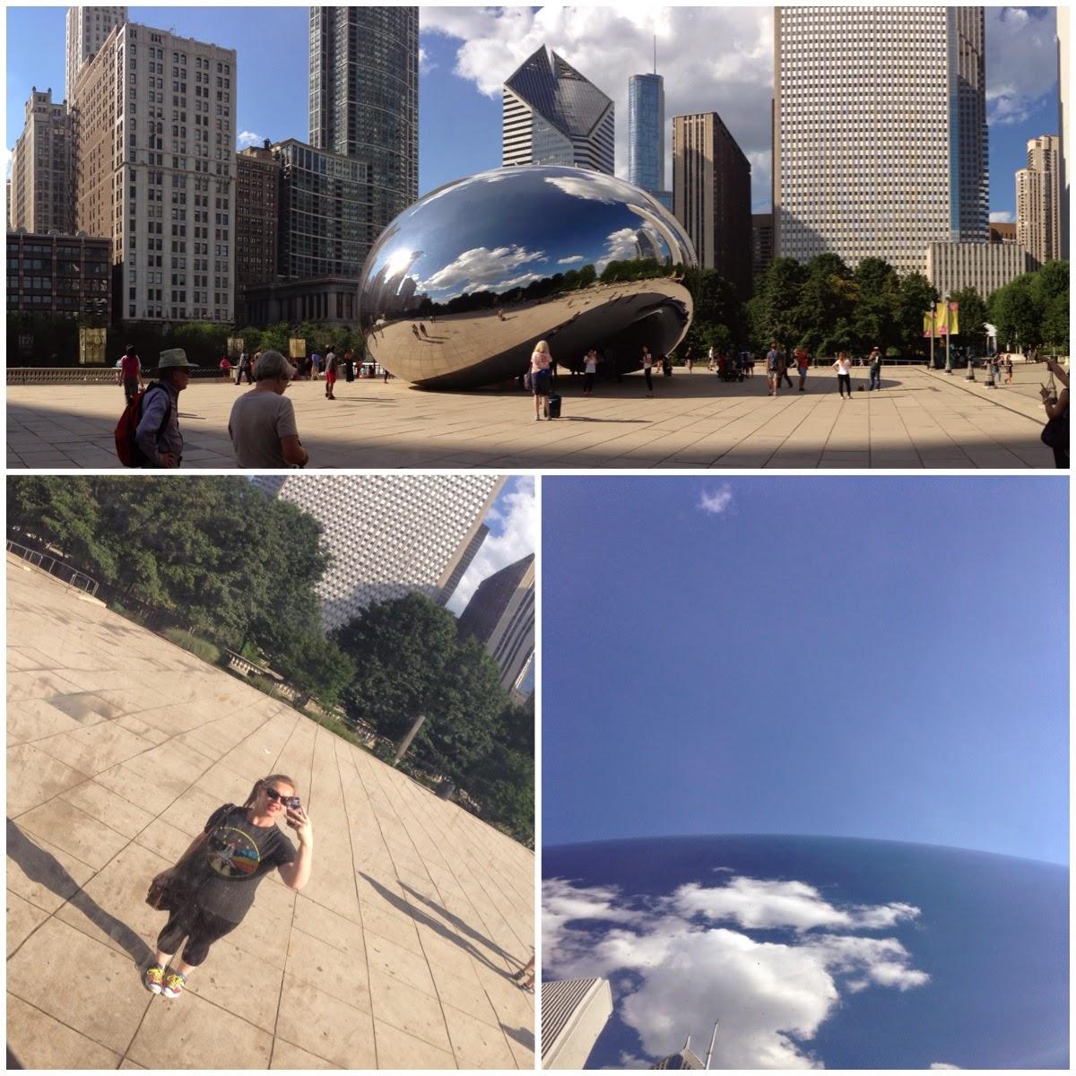 Cloud Gate Millennium Park Chicago