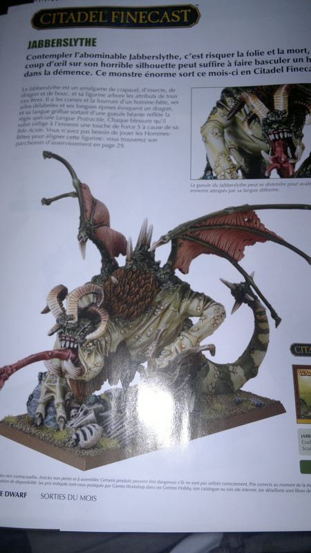 Official GW Jabberslythe painted model photo