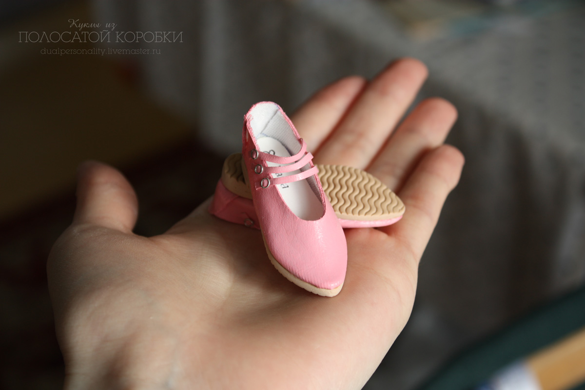 Туфли для куклы. Обувь для куклы