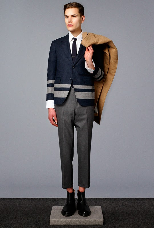 Thom Browne Fall/Winter 2014 Lookbook