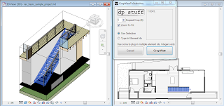 CropViewToSelection Revit Addin from dp Stuff - Quickly Crop 3D Views
