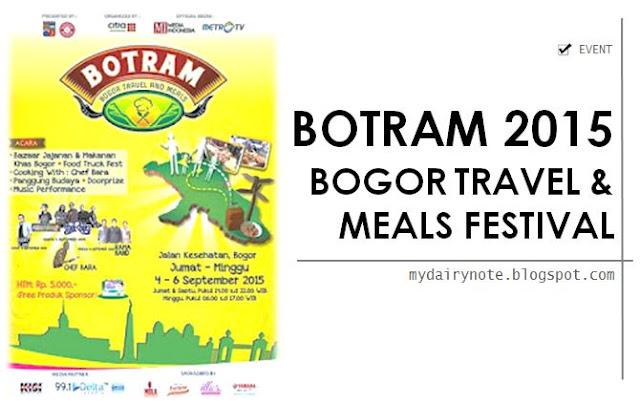 BOGOR TRAVEL AND MEALS FESTIVAL 2015