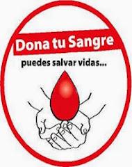 DONA SANGRE PUEDES SALVAR VIDAS..