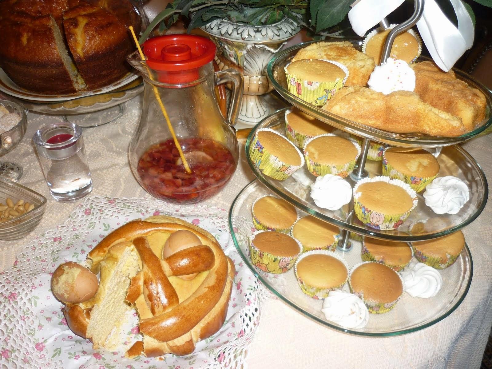 Cupcakes de amêndoa
