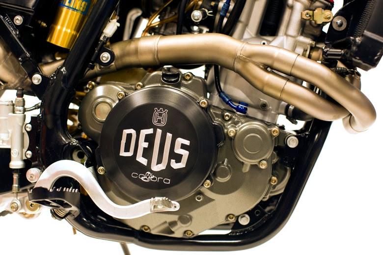 Deusky 510 | Husqvarna Scrambler | Deus Italy | Deus Ex Machina | Husqvarna 510R | Husqvarna 510R Scrambler | Custom Husqvarna 510R