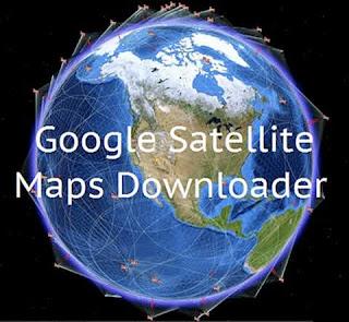 Google Satellite Maps Downloader