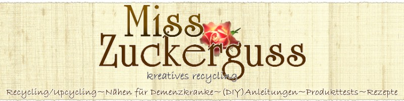 MissZuckerguss - kreatives recycling