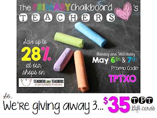 http://primarychalkboard.blogspot.com/2014/05/tpt-gift-card-giveaway.html