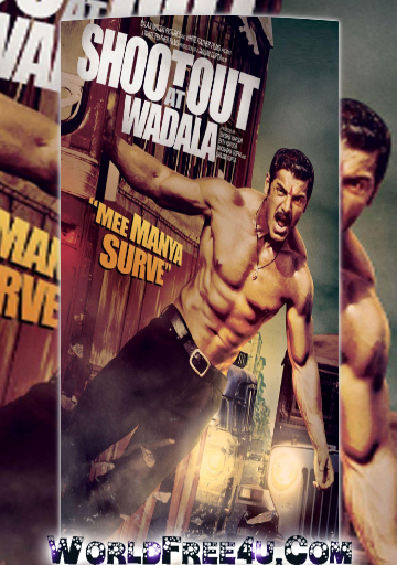 Poster Of Hindi Movie Shootout at Wadala (2013) Free Download Full New Hindi Movie Watch Online At worldfree4u.com