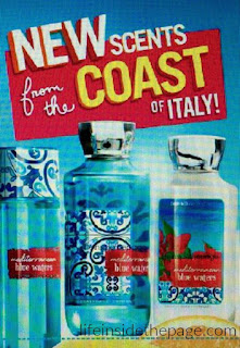 Bath & Body Works | CIAO Italy | Signature Fragrances List for February 2016