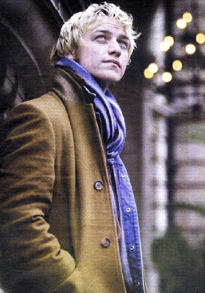 James Mcavoy An Angel Passes By