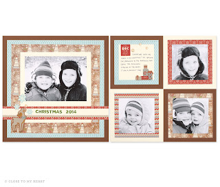 CTMH White Pines Holiday Scrapbook WOTG