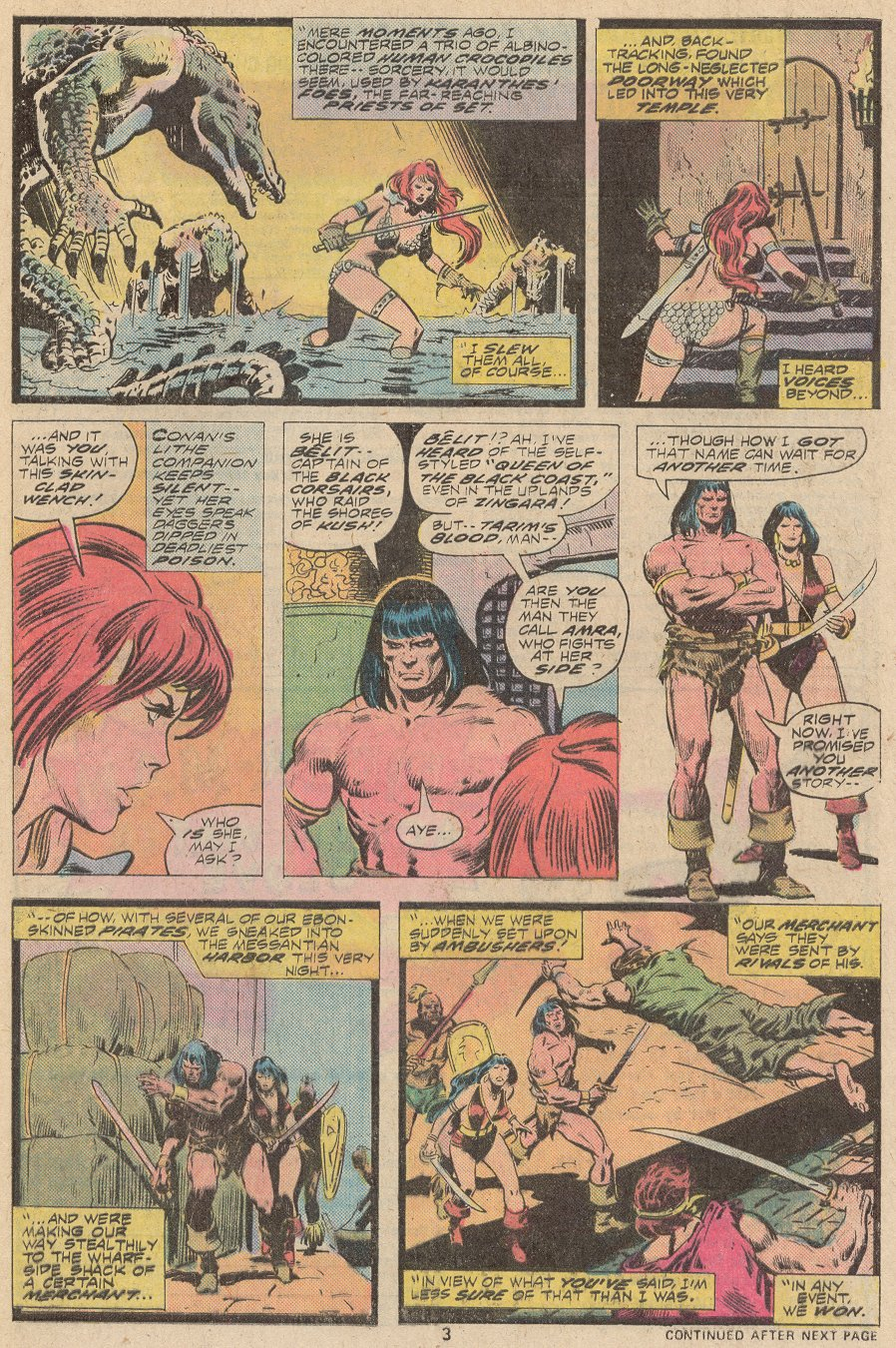 Conan the Barbarian (1970) Issue #67 #79 - English 4