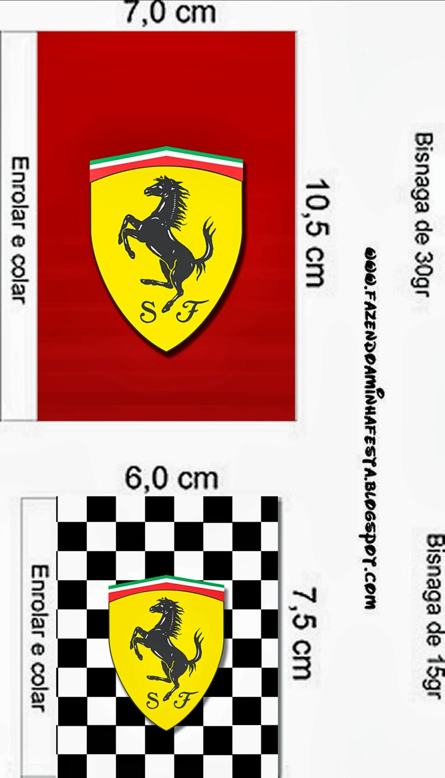 Ferrari: Free Printable Candy Bar Labels. | Is it for ...