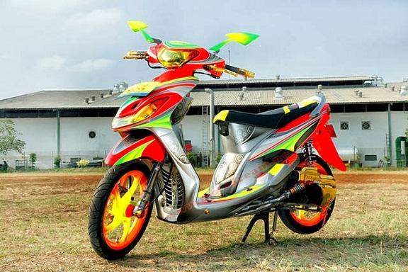 Modifikasi Motor Yamaha Mio Sporty Terbaik Jukir Otomotif