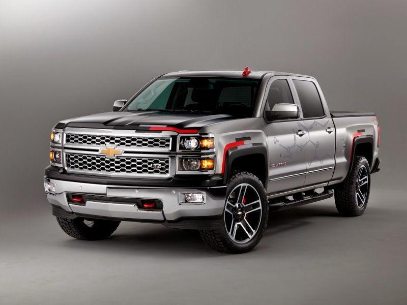 Chevrolet Announces 2015 Silverado Toughnology Concept