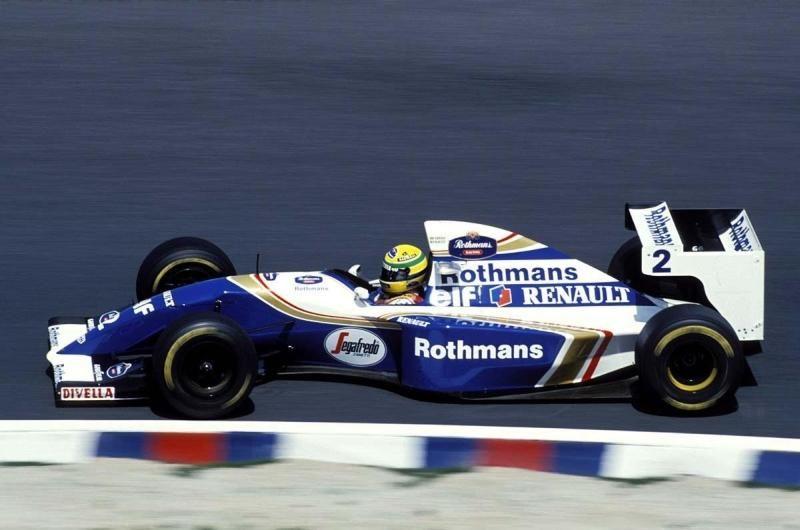 Ayrton Senna Williams FW16