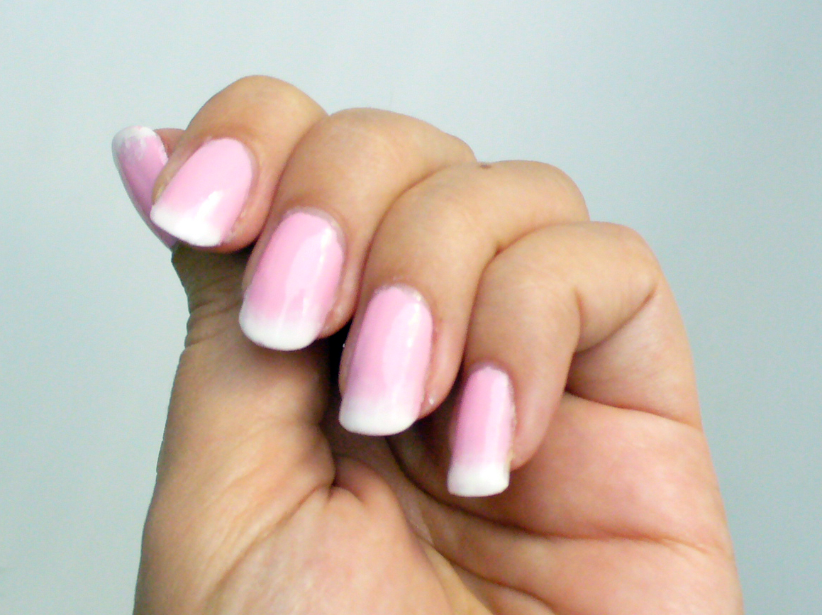Gel Nails French On Pinterest Tips