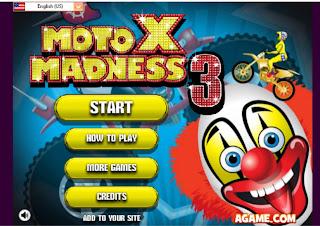 Cara Main Balap Moto X 3