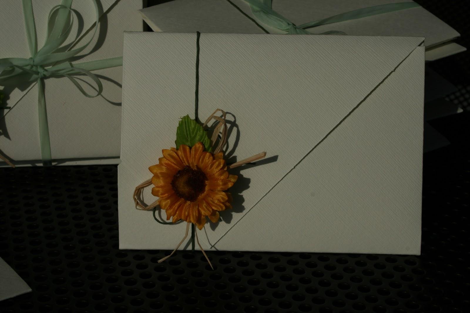 Partecipazioni Matrimonio Girasoli : Fra tante idee partecipazioni con girasole
