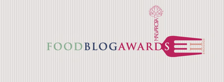 FOOD BLOG AWARDS MALVAROSA 2014