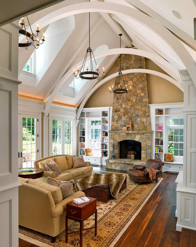 Hogares frescos c modos espacios chic en decoraci n de - Paginas decoracion interiores ...