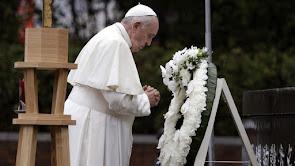 """El papa Francisco, en Hiroshima: """"La posesión de armas atómicas es inmoral"""""""