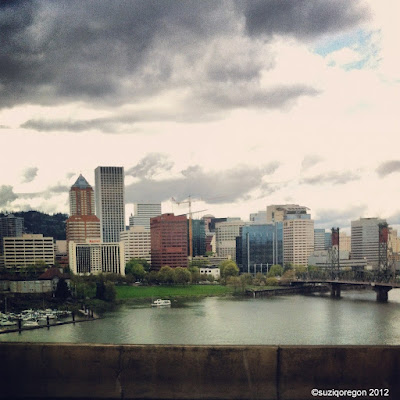 Portland from the Marquam Bridge