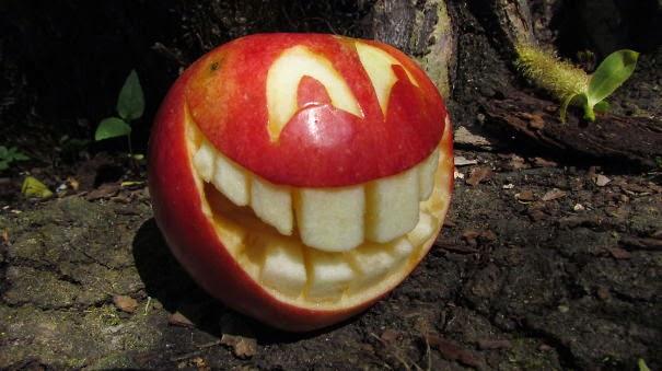 arte con manzanas
