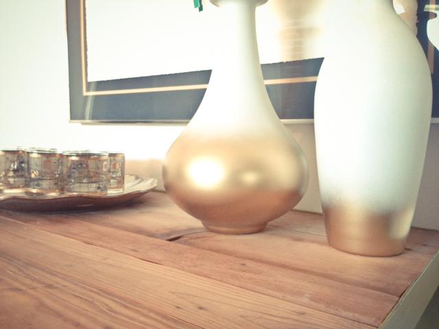 diy ombre vases
