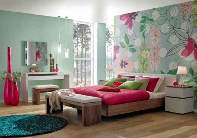 Dormitorios juveniles de color fucsia - Colores de dormitorios juveniles ...