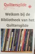 Leden van het Quiltersgilde kunnen gratis boeken lenen. Ze worden thuis gestuurd!