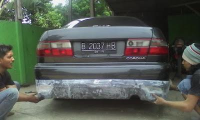 Konsep Modifikasi Toyota Corona