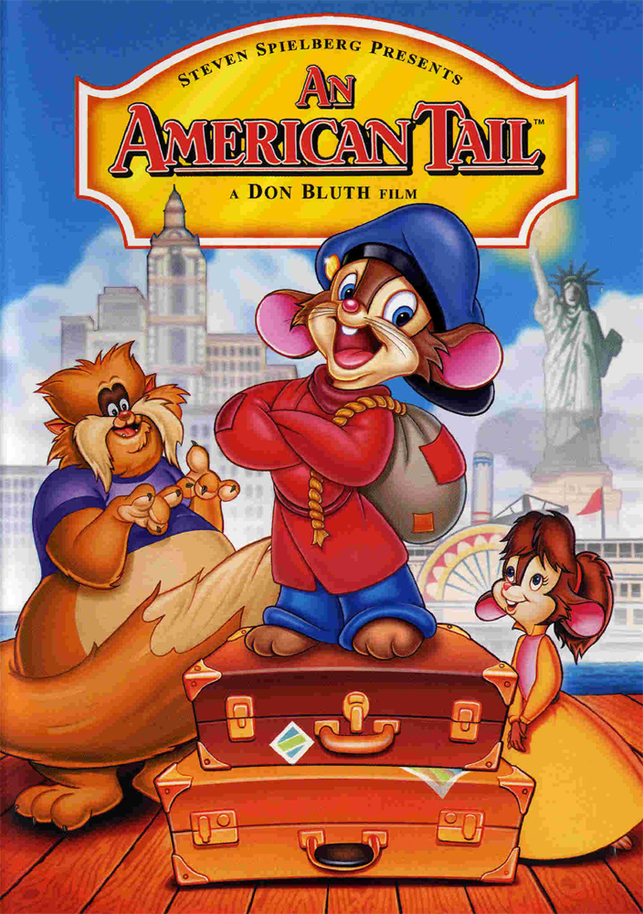 An American Tail 1986 HDTV 480p Hindi Dubbed Dual Audio 300mb