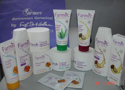 Natural si Aloe Vera cu Farmec