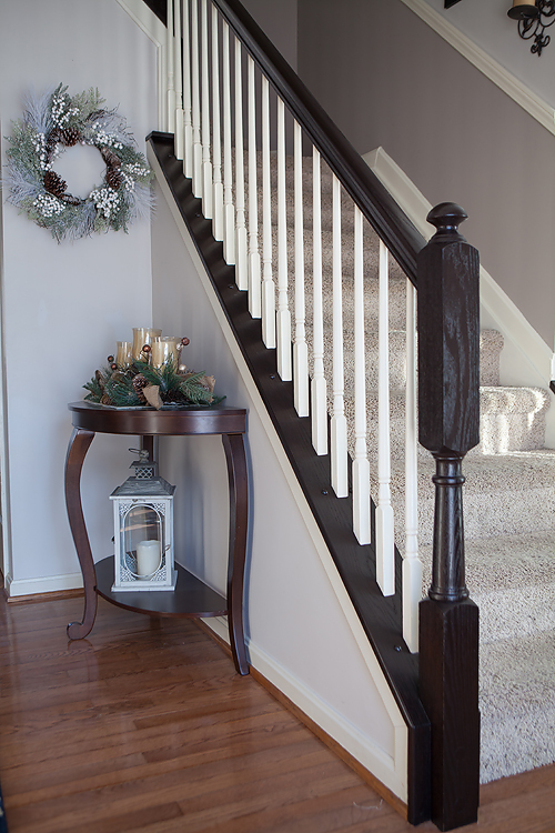 The Paint Color I Used On The Spindles Is More Of A Cream Than A White. The  Rest Of The Trim In Our House Is A Cream Color And I Wanted It ...