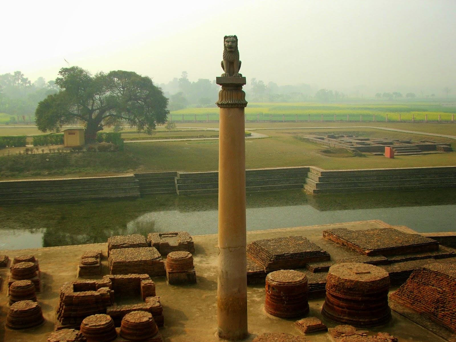 Allahabad Fort's Ashok Pillar