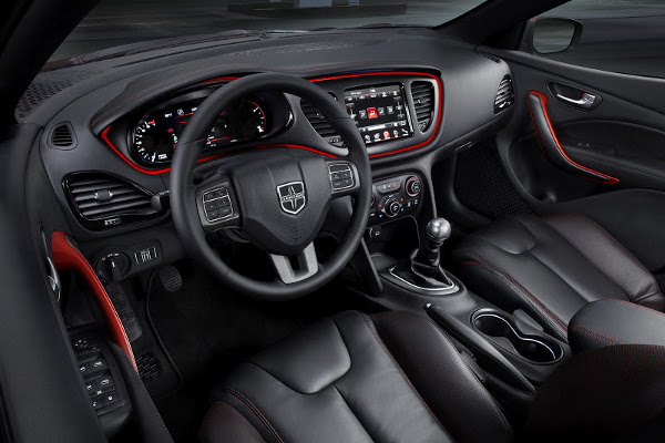 dodge dart interior