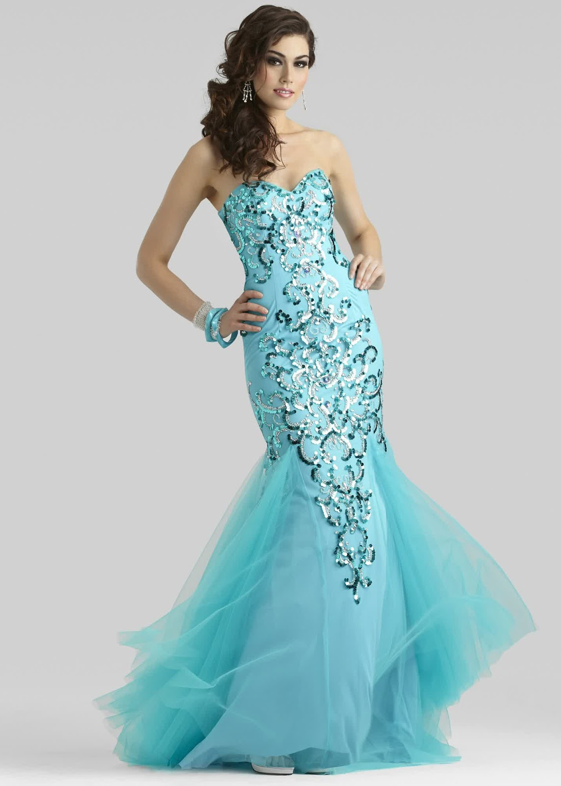 Latest Blue For Mermaid Prom Dresses 2016 | bridal and wedding trend