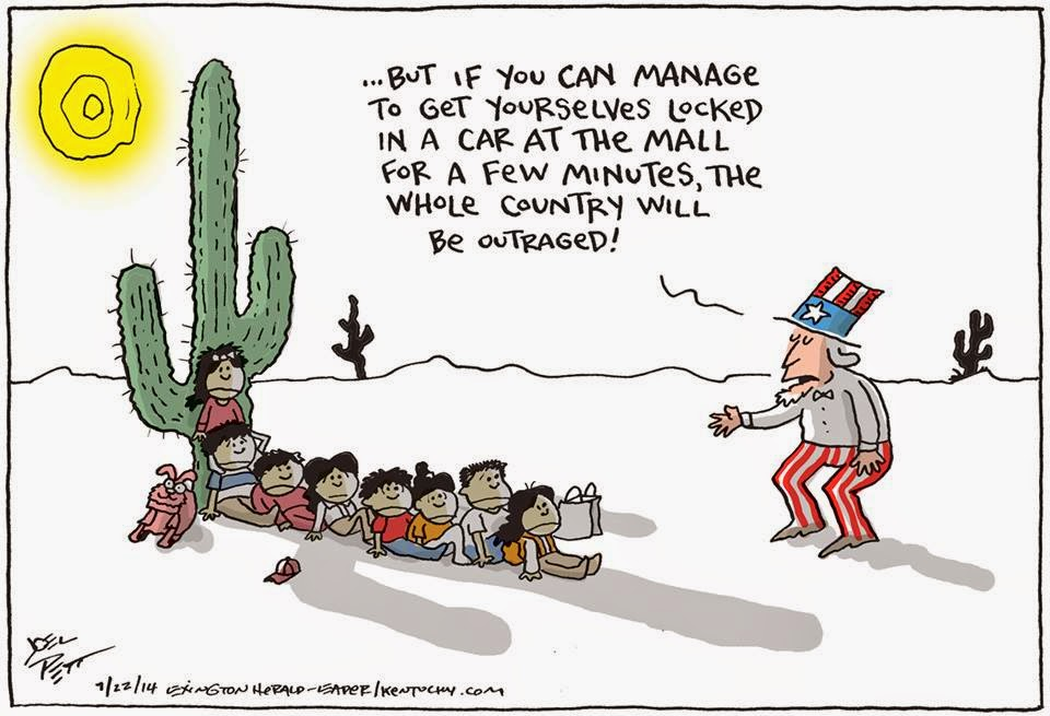 Uncle Sam to children fleeing violence in Central America: